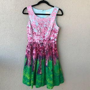 Modcloth Spring Festive Fondescence Dress